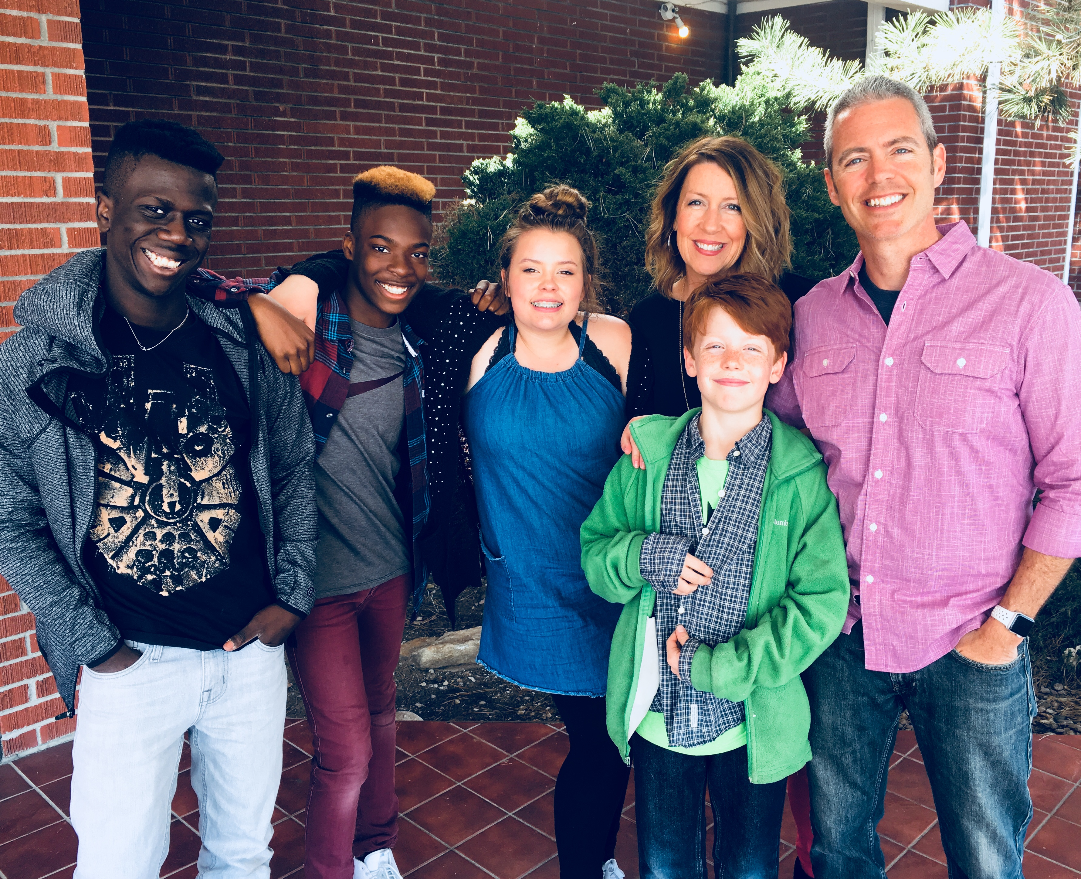 Thomas family 2018